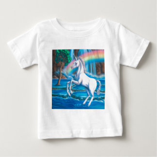 Rainbow Unicorn Baby T-Shirt
