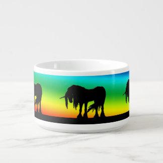 Rainbow Unicorn Bowl