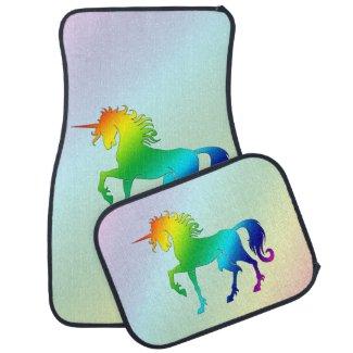 Rainbow Unicorn Car Mats Floor Mat