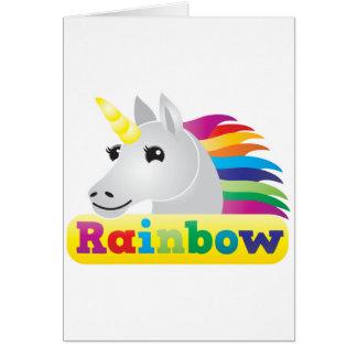 Rainbow Unicorn Cards