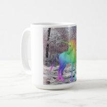 Rainbow Unicorn Fantasy Art Mug