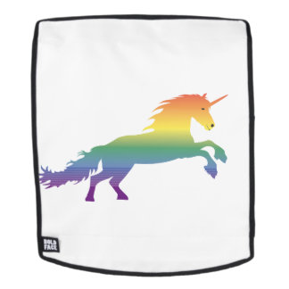 Rainbow Unicorn lgbt Backpack