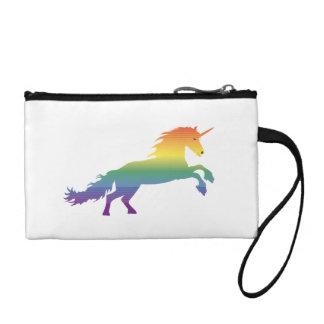 Rainbow Unicorn lgbt Coin Wallet