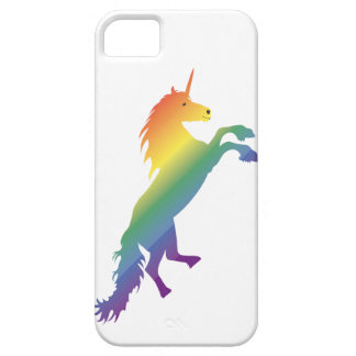 Rainbow Unicorn lgbt iPhone SE/5/5s Case