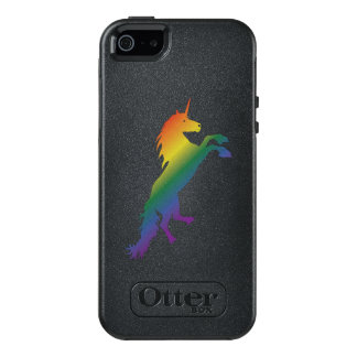 Rainbow Unicorn lgbt OtterBox iPhone 5/5s/SE Case