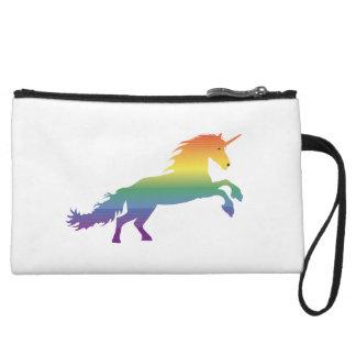 Rainbow Unicorn lgbt Wristlet Wallet