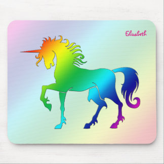 Rainbow Unicorn Mousepad