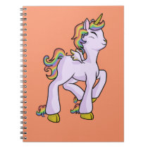 Rainbow Unicorn! Notebook