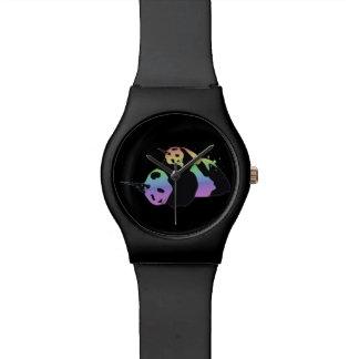Rainbow Unicorn Pandas Magic Sparkle Cuddle Wrist Watch