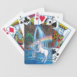 Rainbow Unicorn playing cards