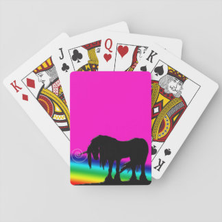Rainbow Unicorn Playing Cards