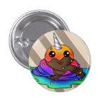 Rainbow Unicorn Poop Pinback Buttons
