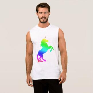 Rainbow Unicorn Sleeveless Shirt