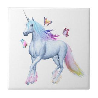 Rainbow unicorn tiles