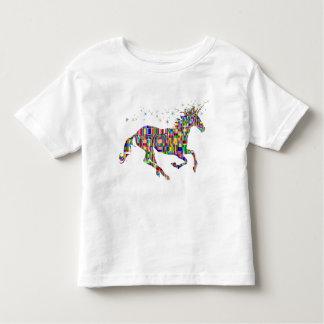 Rainbow Unicorn Toddler Girl T-Shirt