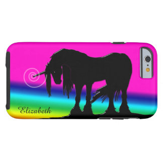 Rainbow Unicorn Tough iPhone 6 Case