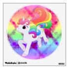 Rainbow Unicorn Wall Decal