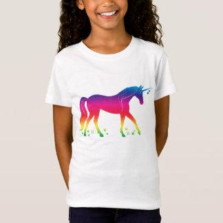 Rainbow Unicorn with Stars T-Shirt