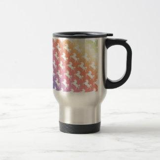 Rainbow Unicorns II Travel Mug