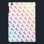 "Rainbow Unicorns iPad Mini Cover<br><div class=""desc"">Unicorn Double Rainbow Awesome</div>"
