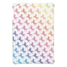 Rainbow Unicorns Ipad Mini Cover at Zazzle