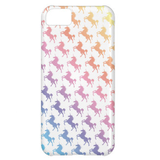 Rainbow Unicorns iPhone 5C Cover