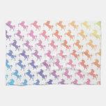 Rainbow Unicorns Kitchen Towels