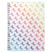 Rainbow Unicorns Notebook