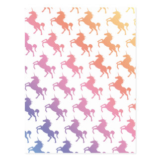 Rainbow Unicorns.pdf Postcard