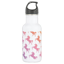 Rainbow Unicorns.pdf Water Bottle
