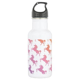 Rainbow Unicorns.pdf Water Bottle