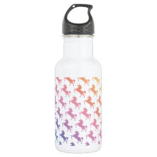 Rainbow Unicorns Stainless Steel Water Bottle