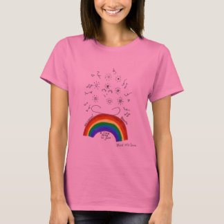 Rainbow Universal Song Woman's Shirt