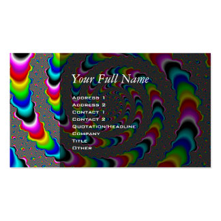 Rainbow Universe - Fractal Art Double-Sided Standard Business Cards (Pack Of 100)