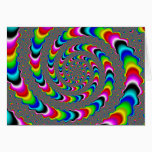 Rainbow Universe - Fractal Art Card