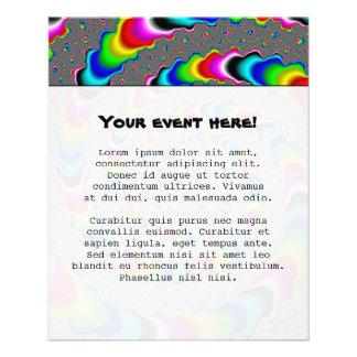 Rainbow Universe - Fractal Art Flyer