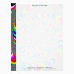 Rainbow Universe - Fractal Art Letterhead