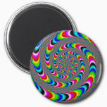 Rainbow Universe - Fractal Art Magnet