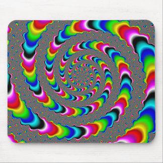 Rainbow Universe - Fractal Art Mouse Pad