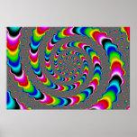 Rainbow Universe - Fractal Art Poster