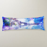 Rainbow Universe Paris Body Pillow