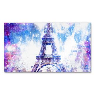 Rainbow Universe Paris Business Card Magnet
