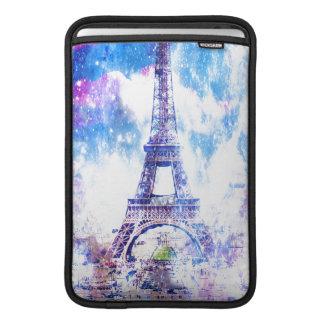 Rainbow Universe Paris MacBook Air Sleeve