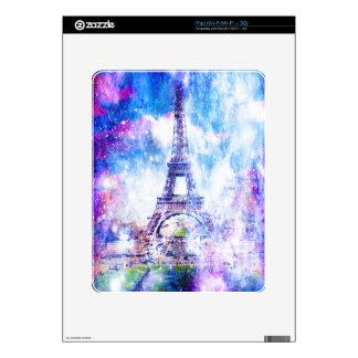 Rainbow Universe Paris Skin For The iPad