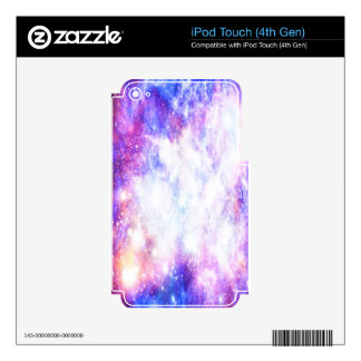 Rainbow Universe Skins For iPod Touch 4G