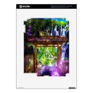Rainbow Universe's Pathway to Paradise Decal For iPad 3