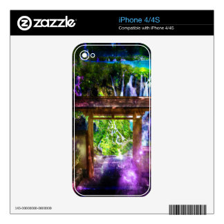Rainbow Universe's Pathway to Paradise Decals For The iPhone 4S