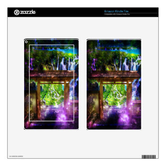 Rainbow Universe's Pathway to Paradise Kindle Fire Skins