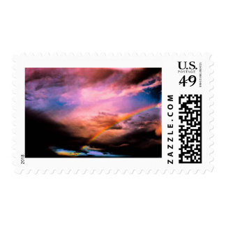 Rainbow upstate New York Postage