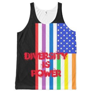 Rainbow USA Pride Diversity CricketDiane Shirts